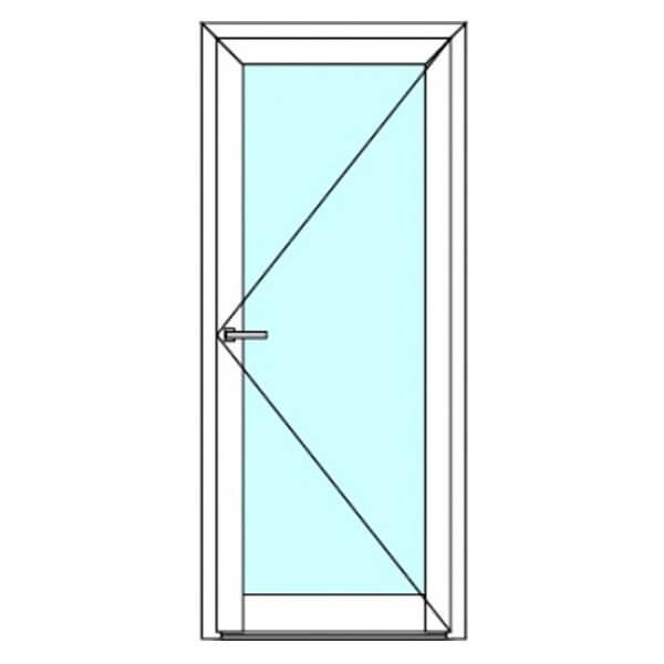 Пластиковые двери 2