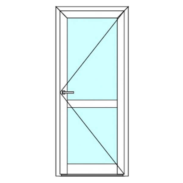 Пластиковые двери 4