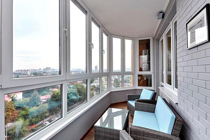 Остекление балконов и лоджий 1