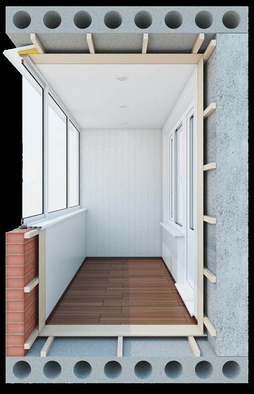 Остекление балконов и лоджий 3