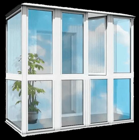 Остекление балконов и лоджий 11