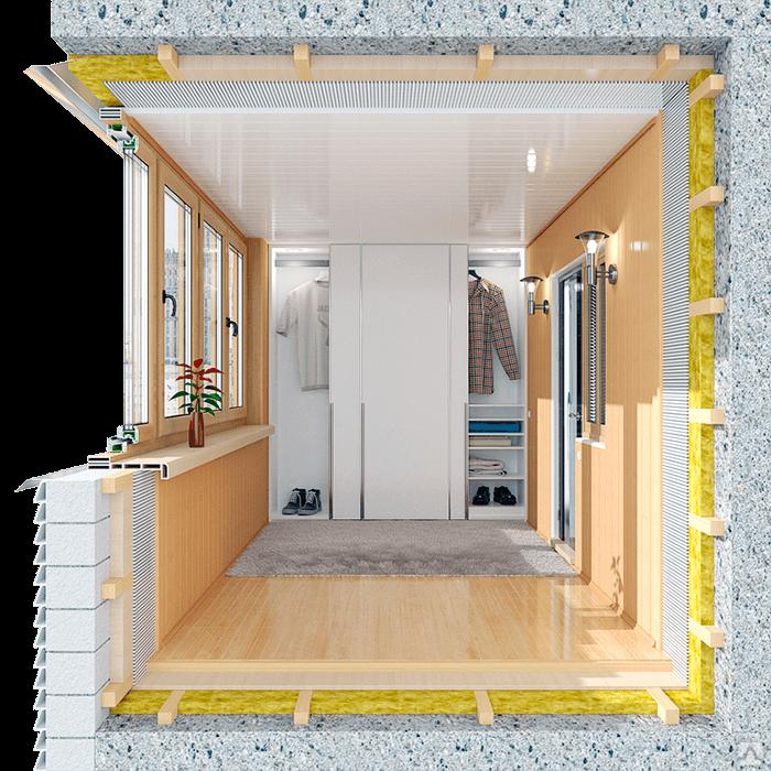 Остекление балконов и лоджий 7