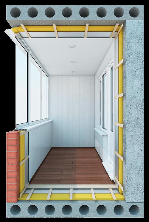 Остекление балконов и лоджий 5