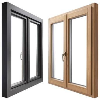 Деревянные окна комфорт+