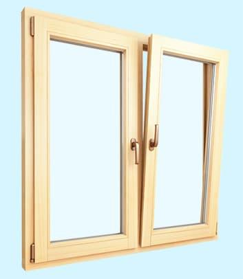 Окна из сосны 1
